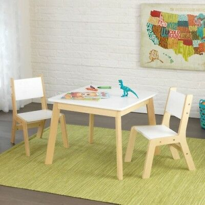 Kidkraft Modern Table \u0026 2 Chair Set - White KID-27025 & KIDKRAFT STAR Table \u0026 Chair Set KID-26912 - $143.98 | PicClick