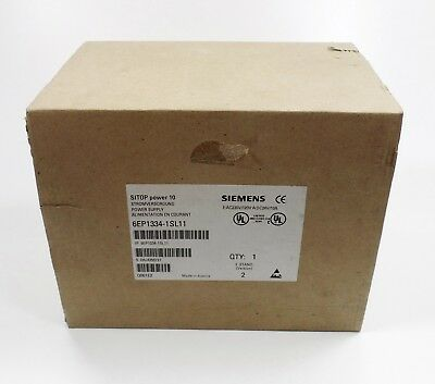 SIEMENS 6EP1334-1SL11 -NEW- SITOP power 10 POWER SUPPLY