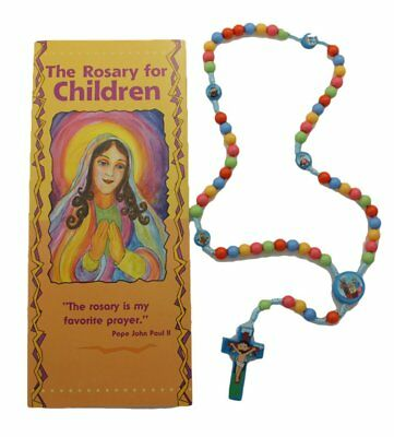 Child Saints Rosary with How to Pray the Rosary for Children Pamphlet