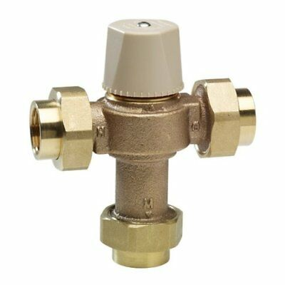 WATTS LFMMV-M1-UT Thermostatic Mixing Valve, 1/2 in.