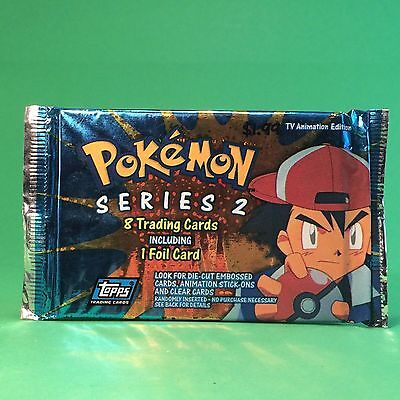 Pokemon Series 2 8 Trading Cards Topps Tv Animation Edition.s OVP #s99