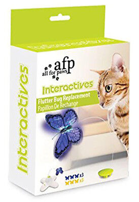 All For Paws Flutter Bug Cat Toy Refill- Includes 6x Replacement Butterflies