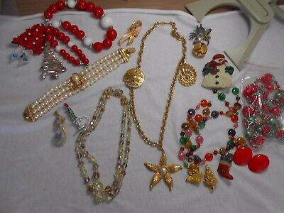 Jewelry for projects or repair some signed 5 pounds