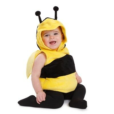 Dress Up America Toddlers Little Fuzzy Little Bee Costume Outfit