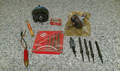 Lot of Antique/Vintage Tools ~ Bits, Electrical Tester, More ~ Old Tools
