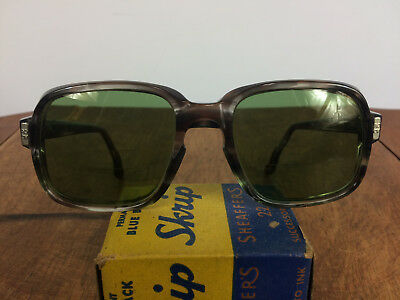 Vintage 50s 60s AO American Optical Work Safety Glasses Goggles Frames USA