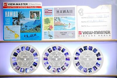Hawaii State Tour Series Packet A120 - GAF View-Master G3 ed. B