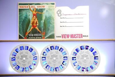 Water Ski Show: Cypress Gardens 3-reel Packet A967 - View-Master S5 - Complete