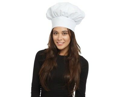 Dress Up America Adults White Chef Hat One Size