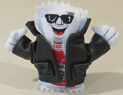 NEW Heinz Tomato Ketchup Packet Plush, beanie, novelty, leader, leather jacket