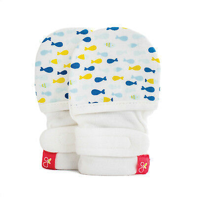 Goumikids goumimitts mitts / gloves 3-6 months / School of fish RARE - NEW