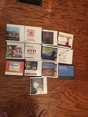 Lot of Books on CD 13 Non Fiction Various subjects