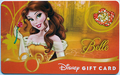Older Disney Princess Debut Gift Card: Beauty and the Beast's BELLE New Conditio