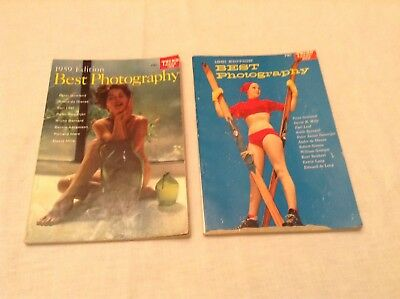 1959 & 1961 Editions Of Best Photography Magazines (Trend Books 183 & 202)