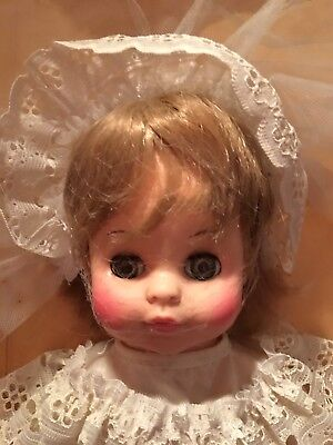 Extremely Rare  13 inch Horsman Bride Doll with Veil  marked 1967