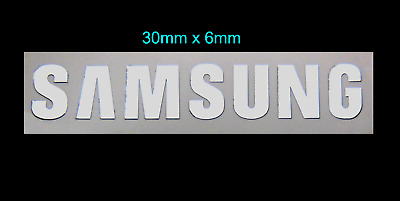 Samsung Metal Sticker Logo Label / Emblem / Badge 6mm x 32mm