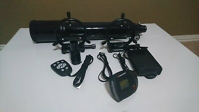 Celetron 80mm Guidescope with Nexguide and accessories