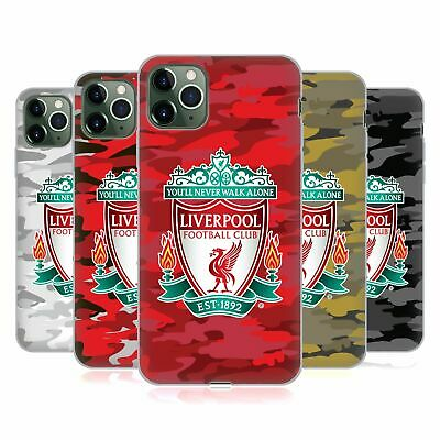 OFFICIAL LIVERPOOL FOOTBALL CLUB CAMOU SOFT GEL CASE FOR APPLE iPHONE PHONES