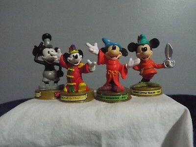 100 Years of Disney Magic McDonalds  lot  4 Mickey Mouse band/ apprentice,Willie