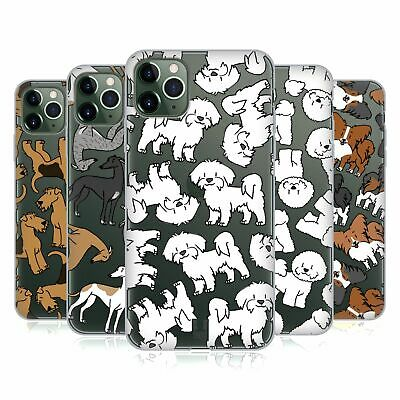 HEAD CASE DESIGNS DOG BREED PATTERNS 4 SOFT GEL CASE FOR APPLE iPHONE PHONES