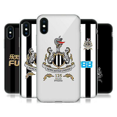 NEWCASTLE UNITED FC NUFC 125 YEAR ANNIVERSARY GEL CASE FOR APPLE iPHONE PHONES
