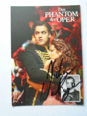 Nicky Wuchinger - Das Phantom der Oper - Musical - original Autogrammkarte