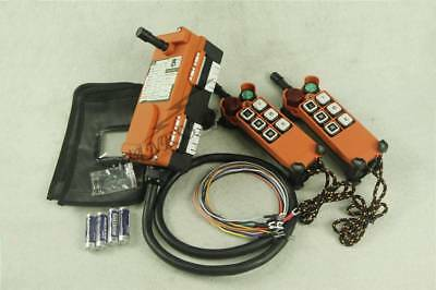 F21-E1 Double Emitters Hoist Crane Radio Wireless Remote Control DC24V