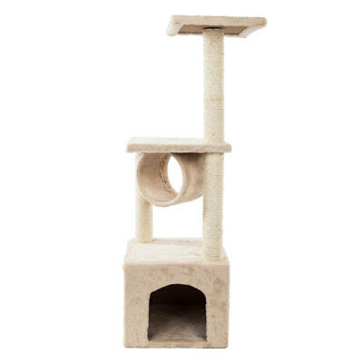 Home Cat Toy Tree Adventure Play Set Scratcher Scratching Post Activity Centre