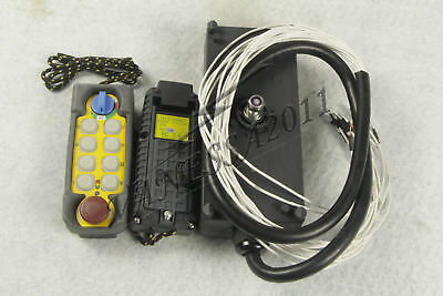 F21-E2 10 Button Double Emitter Hoist Crane Radio Wireless Remote Control DC12V