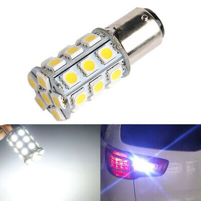 1cp 1157 bay15d p21 / 5w white 5050 27led inverser renforts tail frein ampoule