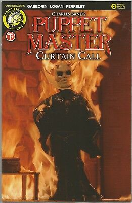 PUPPET MASTER CURTAIN CALL (2017) #2 LIMITED COVER Back Issue (S)