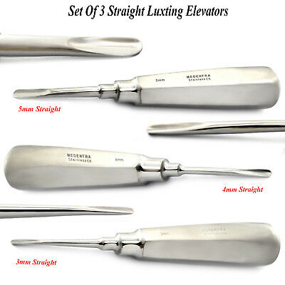 Set Of Luxation Elevator Tooth Loosening Luxating Surgery Extracting Instruments