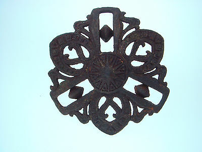 Vintage Antique Very Old Russia Russian Empire Oil Lamp Hanger hook Rare Nr 1866
