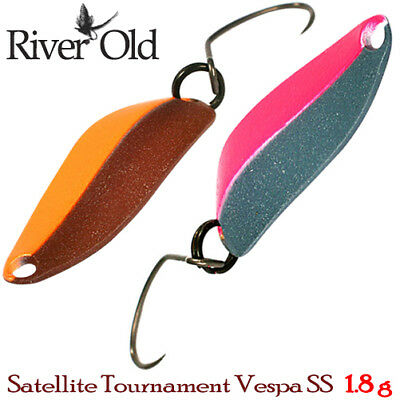 River Old Satellite Tournament Vespa SS 1.8 g Trout Spoon Assorted