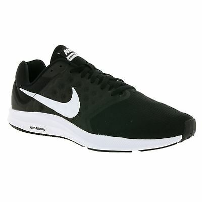 Nike Downshifter 7 Black Mens Low Top Mesh Trainers