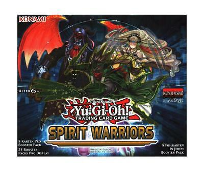 Yu Gi Oh! - Spirit Warriors Display Neu & OVP