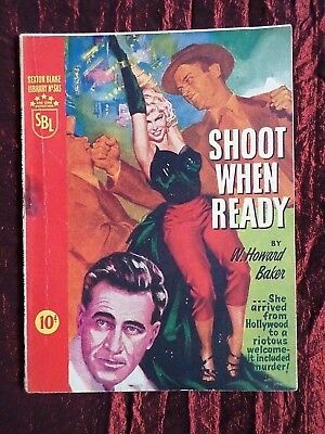A Vintage Sexton Blake Library  - Pulp Magazine  - # 383 - Shoot When Ready