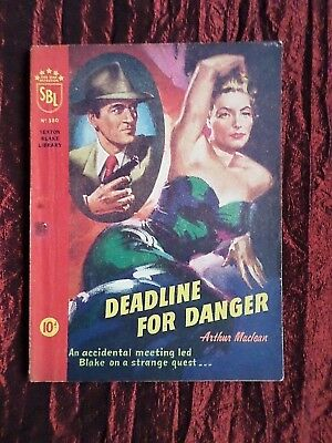 A Vintage Sexton Blake Library - Pulp Magazine - # 380- Deadline For Danger