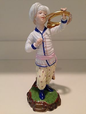 Hochst French Horn Player Figurine Made in Germany New