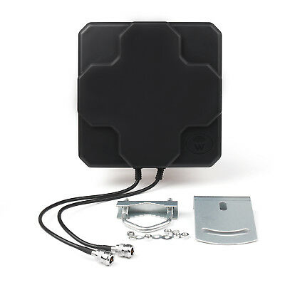 18dBi 4G LTE Antenne Outdoor Panel Dual MIMO N Female Signal Strength Booster B7