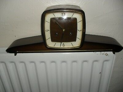 Hermle Art Deco Mantle Clock with Ting-Tang Chime