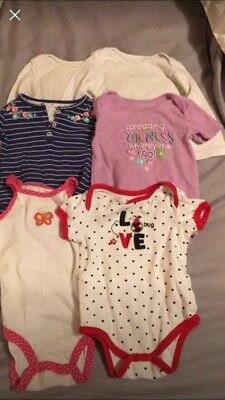 6 One Pieces and 7 Pairs of Pants. 18 Months