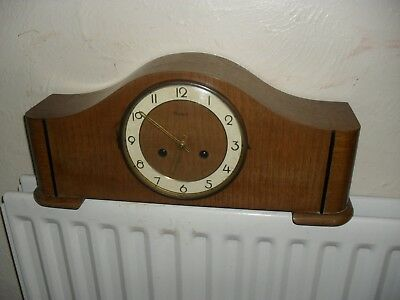 Hermle Large Art Deco Mantle Clock with Ting-Tang Chime