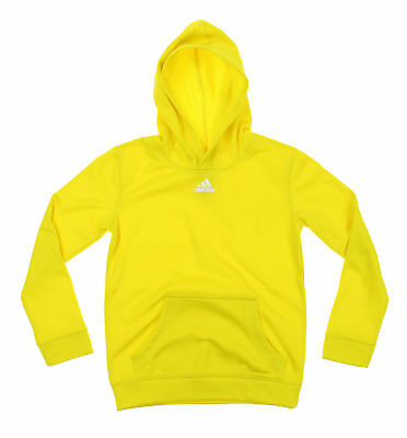Adidas Youth Athletic Performance Hoodie, Yellow