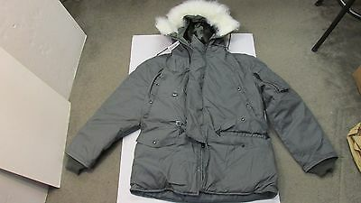 New Usaf N3B Extreme Cold Weather Parka Arctic Snorkel Jacket Size Large W/ Tag