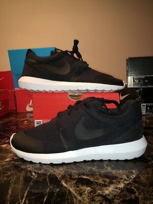 hot sale online 4032d acf3f Nike Roshe NM TP Tech Fleece Pack Black 749658 001 Men s Size 10 No Box Lid