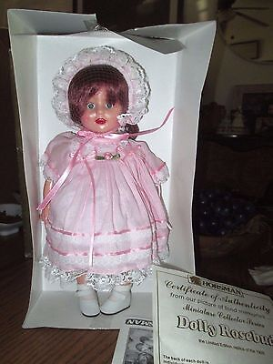 "12"" Horsman Dolly Rosebud replica of 1928 * NIB * COA"