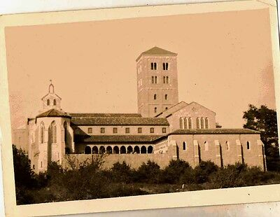 Old Vintage Antique Photograph The Cloisters Building Church Home 1941