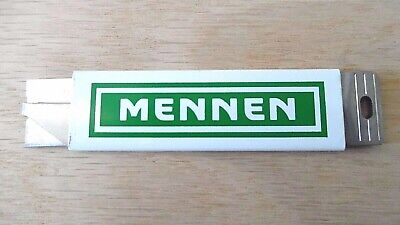 Vintage Advertising Mennen Box Cutter~Made In Usa~Nos