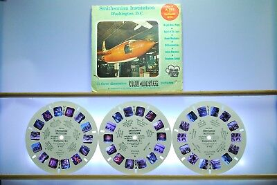 Smithsonian Institution A792 3-reel Set - Sawyers View-Master S4